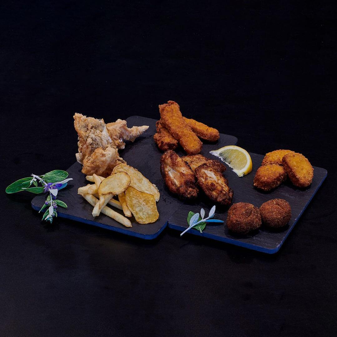 Da Galliano il fritto è di casa, dal pesce alle patatine passando per le alette di pollo